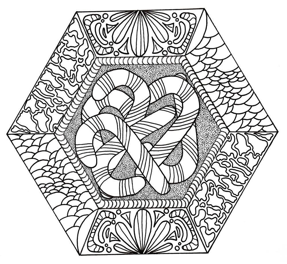Christmas Coloring Pages for Adults – coloring.rocks!   919x1000
