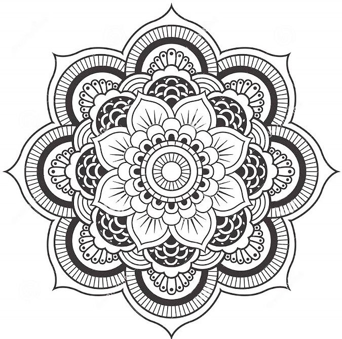 Flower Mandala Coloring Pages – Coloring.rocks!