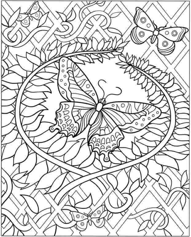Flower Coloring Pages For Adults Coloring Rocks