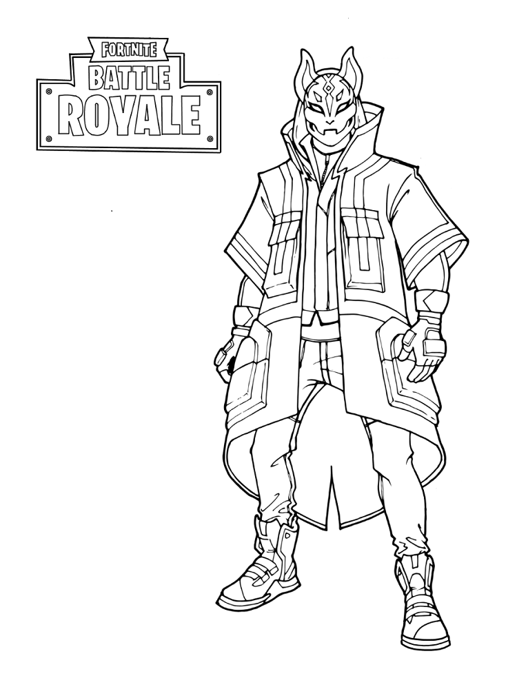 Fortnite Season 5 Skin Coloring Pages