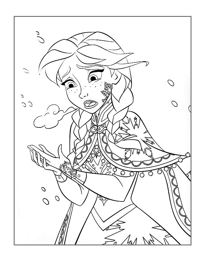 - Frozen Coloring Pages! – Coloring.rocks!