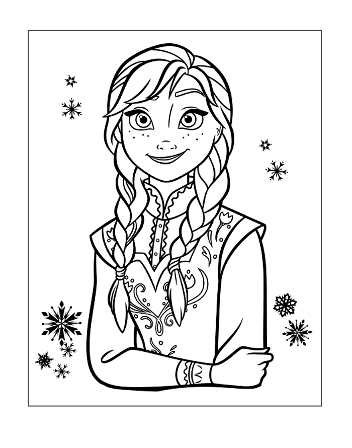 frozen-coloring-image-anna