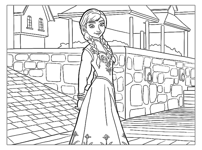 frozen-coloring-pages-anna-in-town