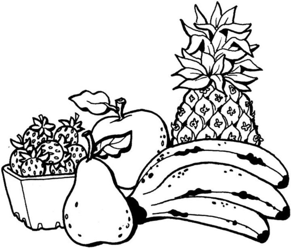 - Fruit Coloring Pages – Coloring.rocks!