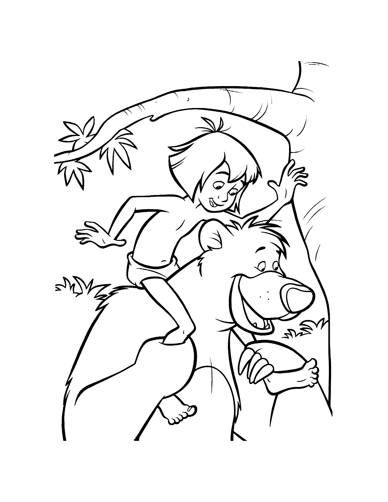 Fun Jungle Book Coloring Pages
