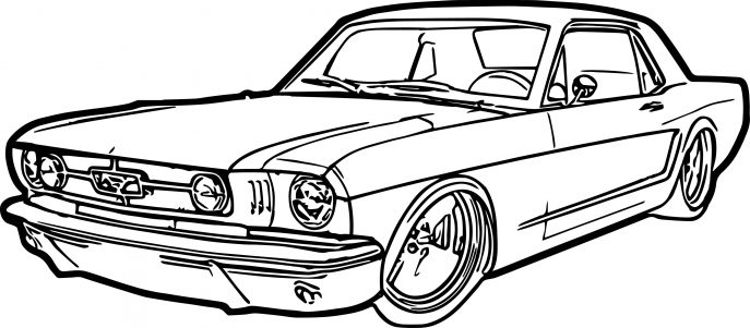 GTA Car Coloring Pages