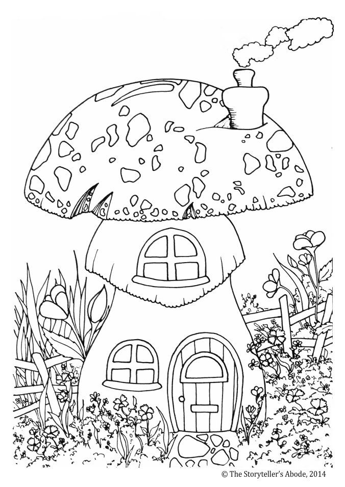 Inspirational coloring pages from Secret Garden, Enchanted Forest ... | 955x676