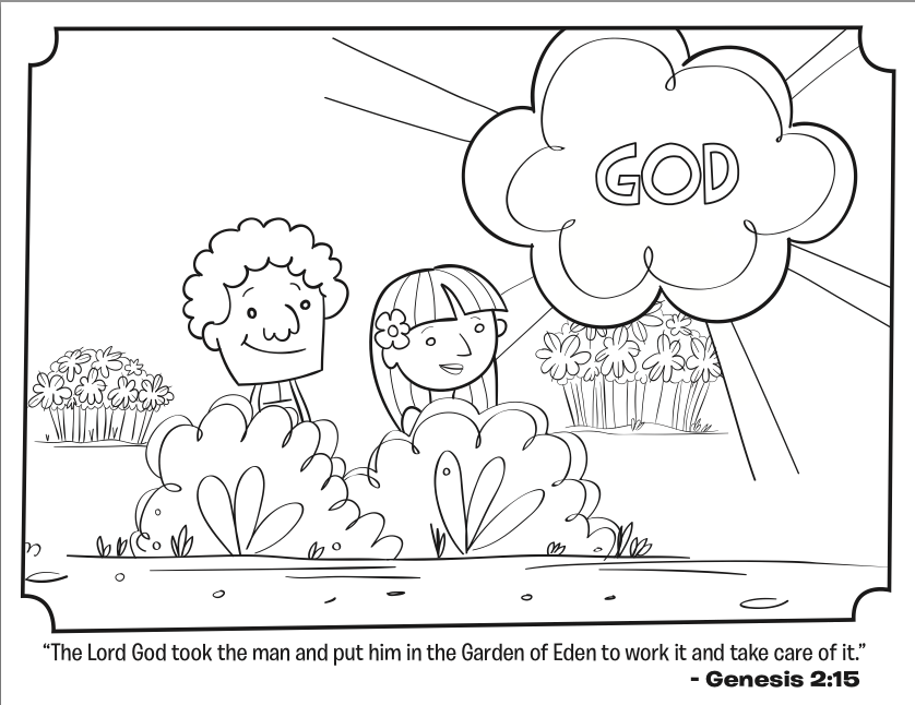 sunday school coloring sheets creation – littapes.com | 646x838