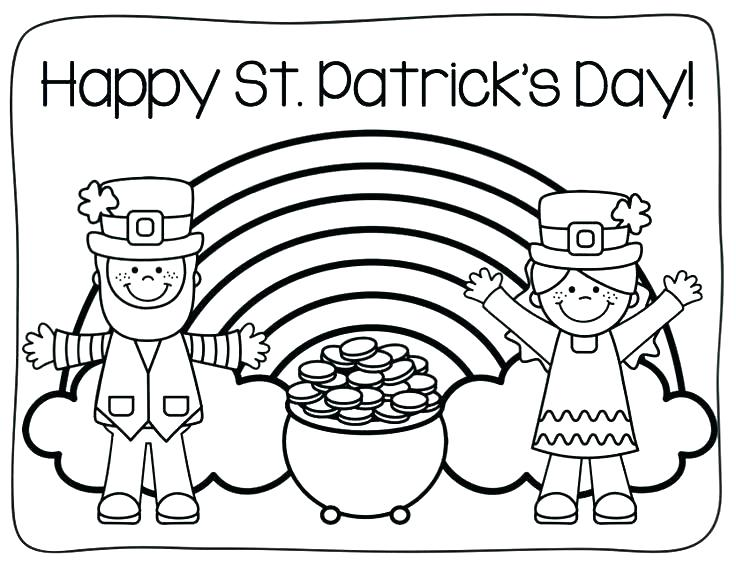 Happy St Patricks Day Coloring Page (2)