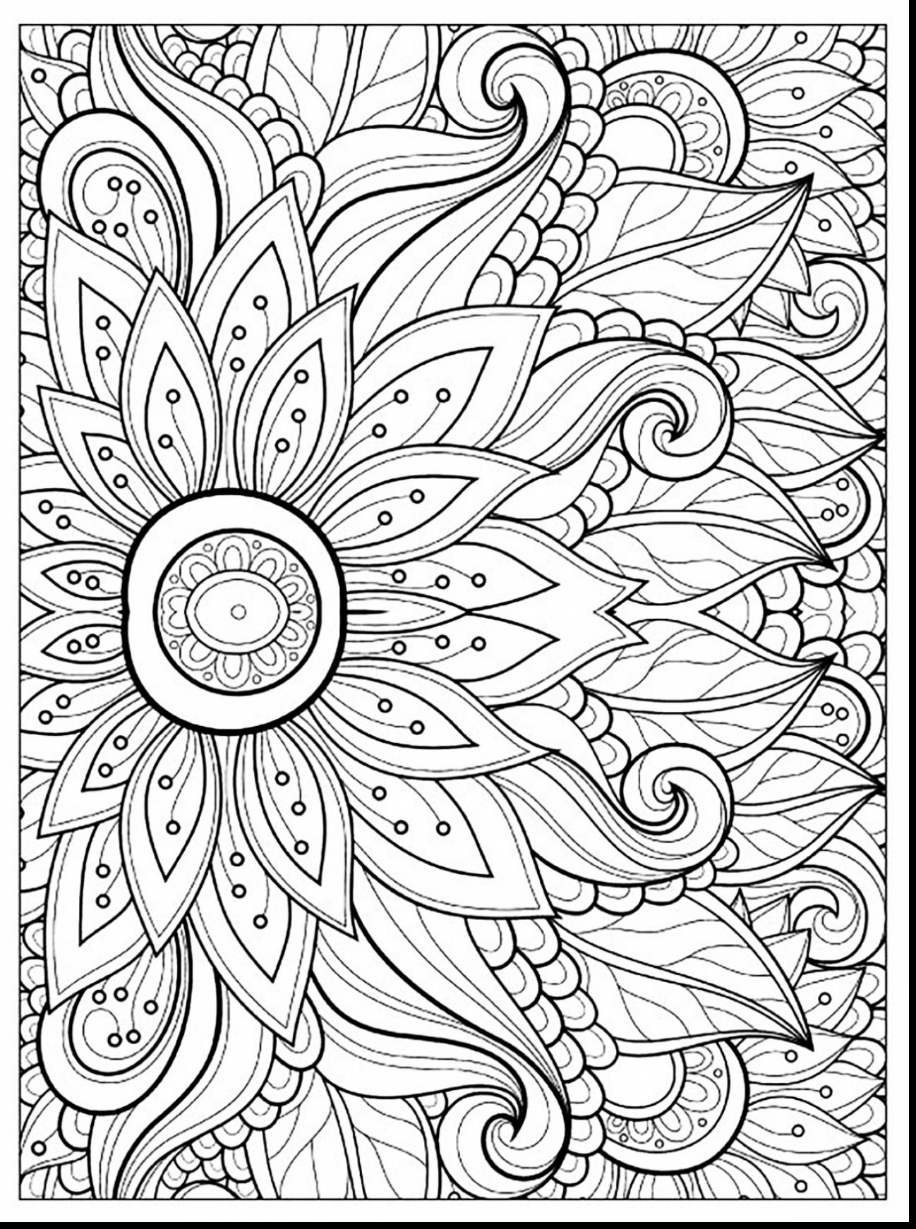Flower Coloring Pages – coloring.rocks!
