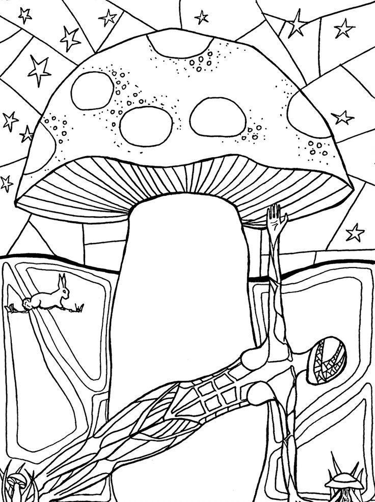 Hard Yoga Pose Coloring Page