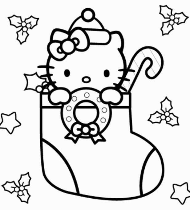 Christmas Stocking Coloring Pages Coloring Rocks