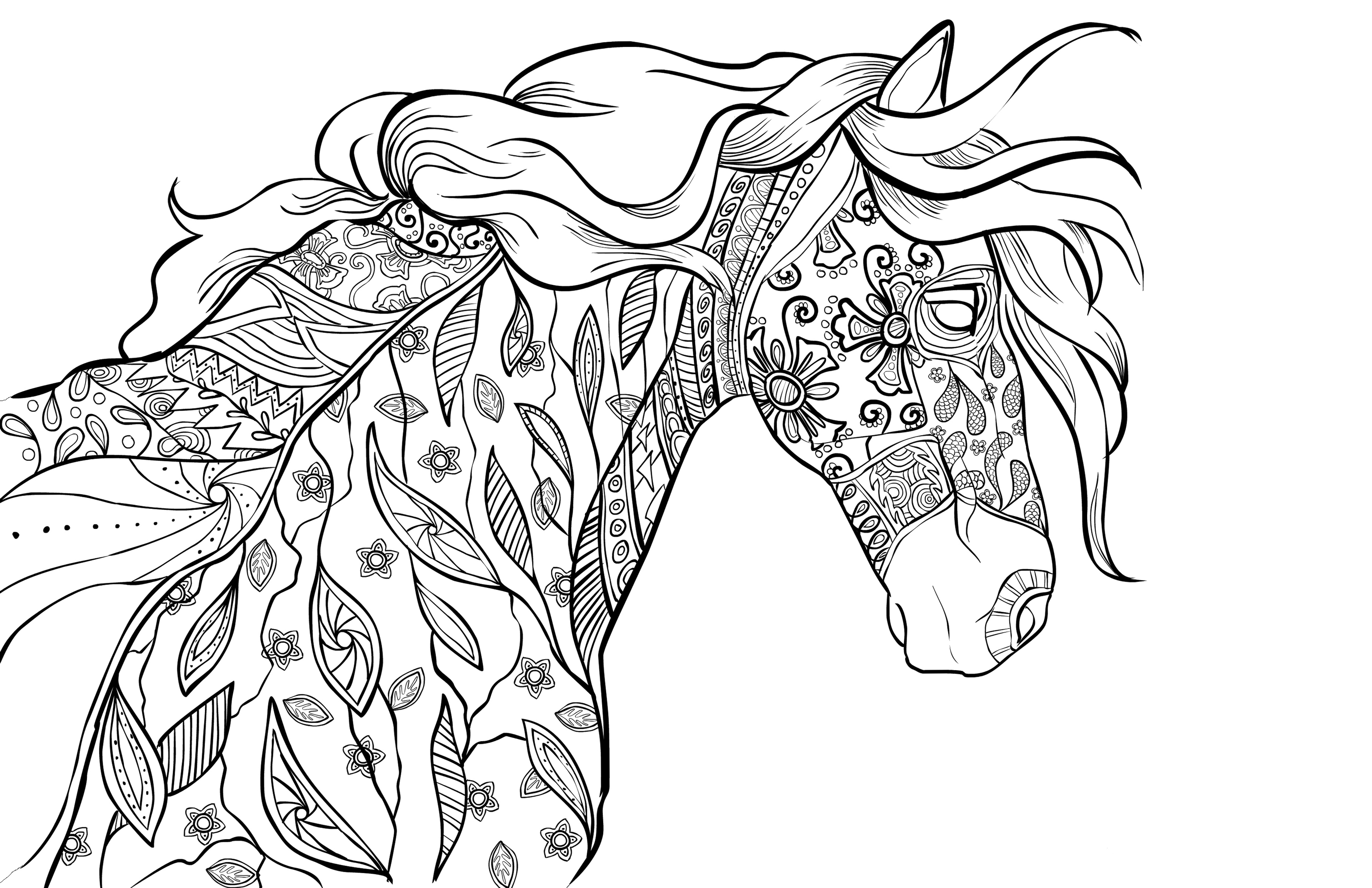 Free Fancy | Coloring Pages For Adults, Download Free Clip Art ... | 3300x5100