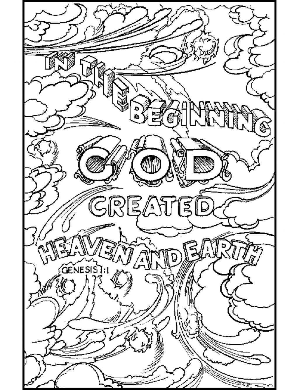 Bible Coloring Pages coloringrocks