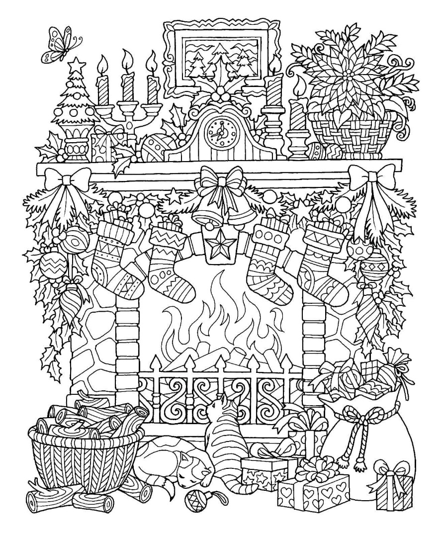 Winter Coloring Pages - coloring.rocks!