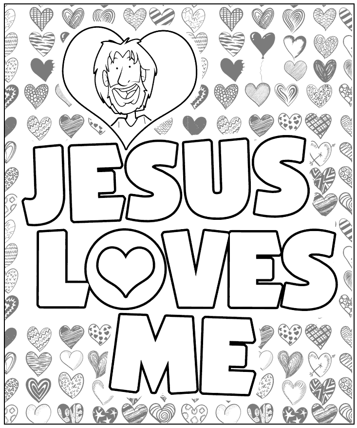 Jesus Heals a Man Born Blind coloring page | Free Printable ... | 878x733