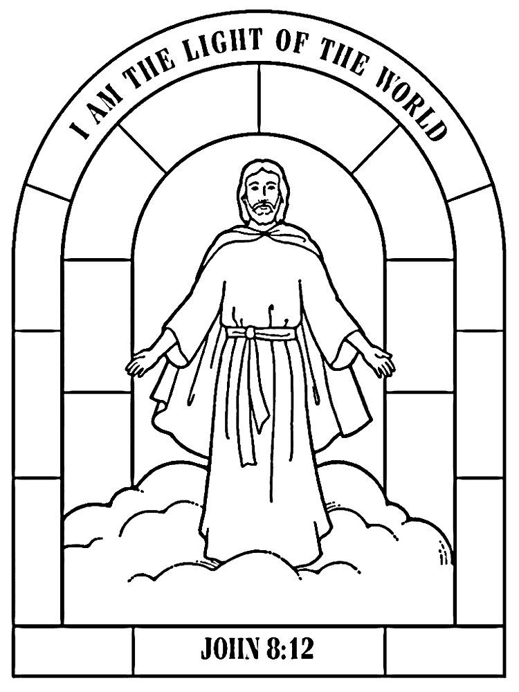Jesus Restores Peter Coloring Page – coloring.rocks!