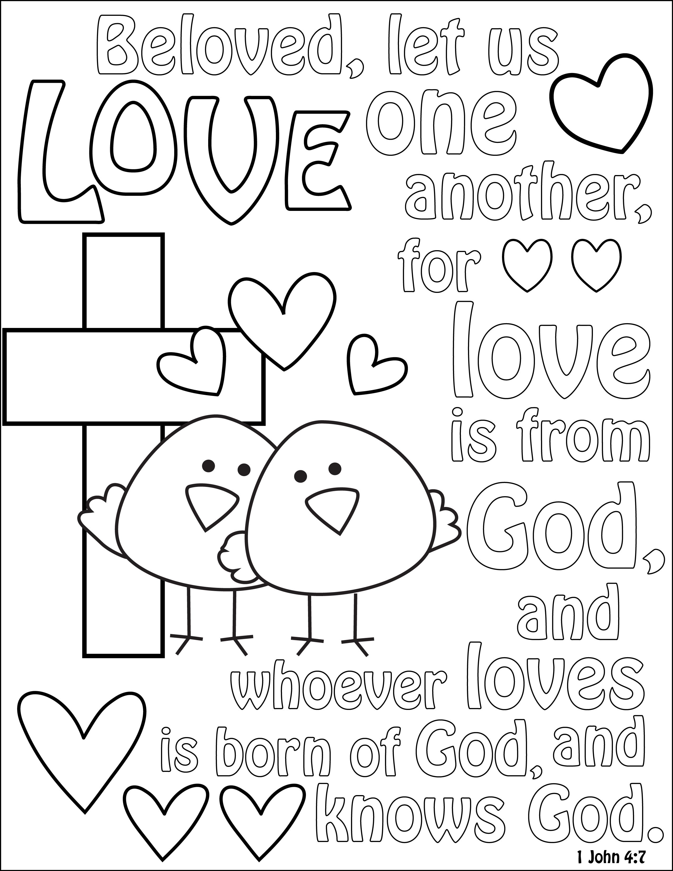 Bible Verses Coloring Pages Pictures - Whitesbelfast | 3304x2554