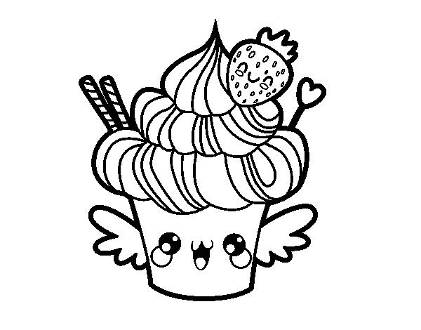 Coloriage En Cupcake.Cupcake Coloring Pages Coloring Rocks