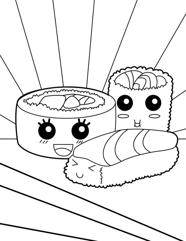 Free food coloring pages for children || COLORING-PAGES-PRINTABLE.COM | 951x736
