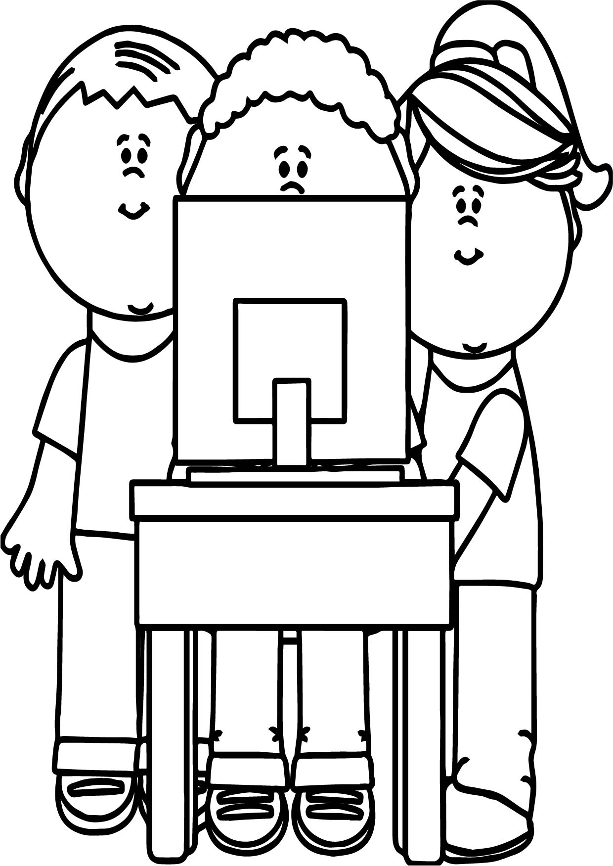 Computer Coloring Pages | coloring.rocks!