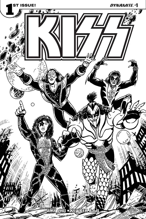 Kiss Band Cool Coloring Pages