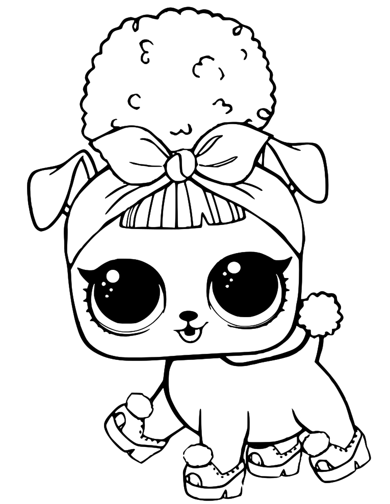 LOL Pets Coloring Page