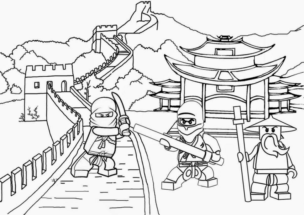ninjago vs darth vader lego coloring pages | Lego Ninjago Coloring Pages – coloring.rocks!