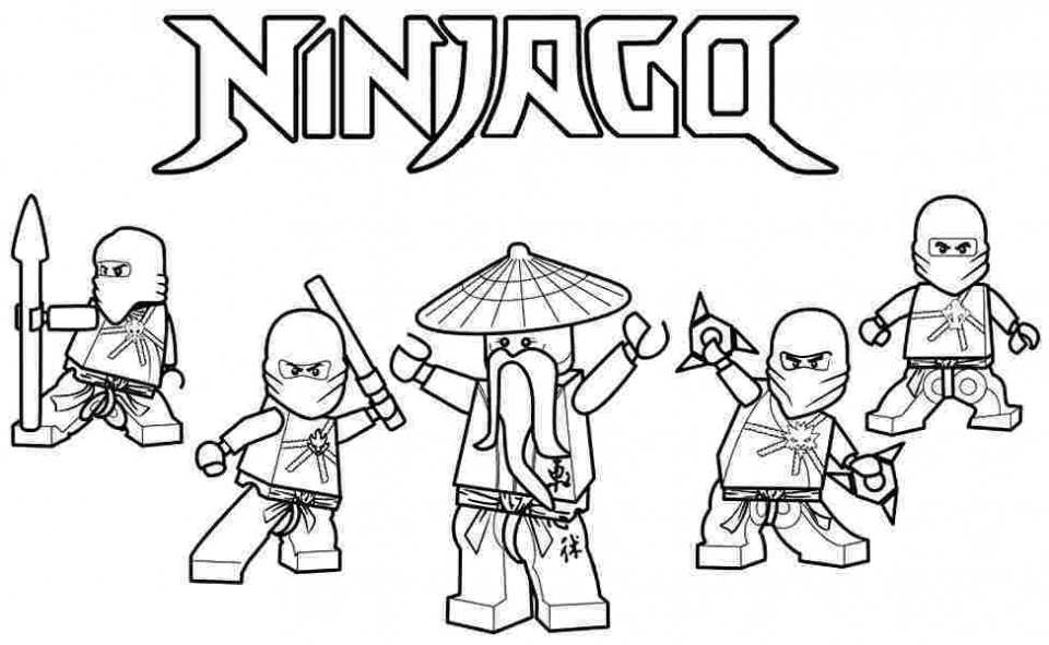 Lego Ninjago Coloring Pages – Coloring.rocks!