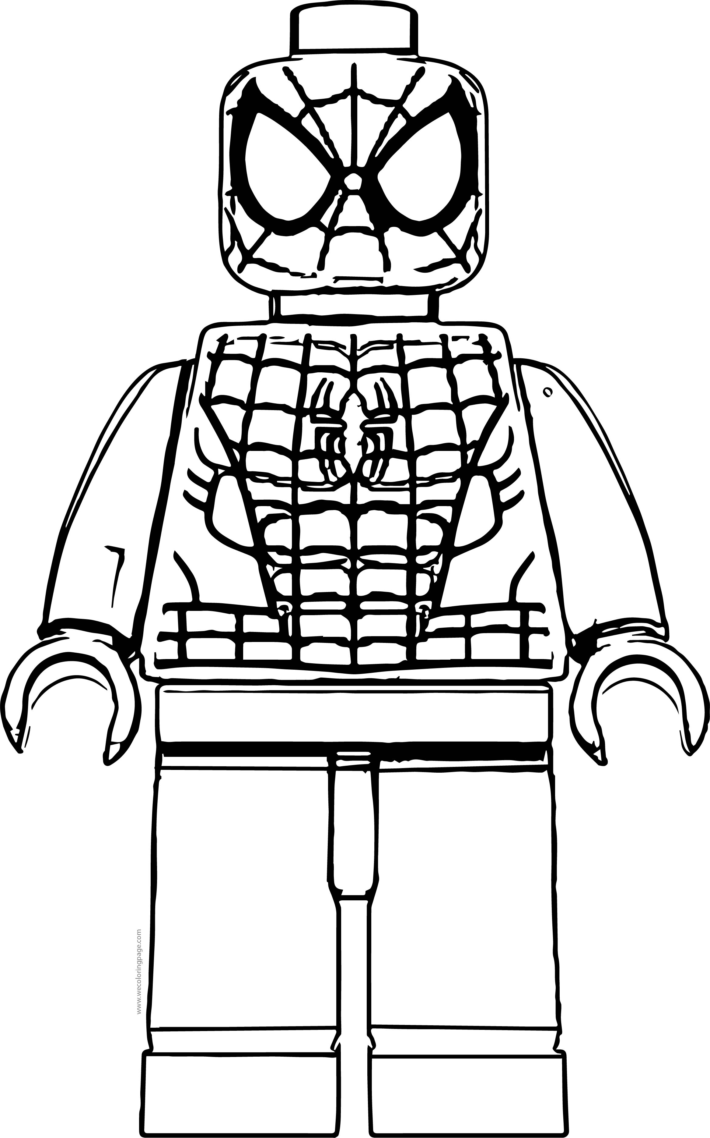Lego Spiderman Coloring Pages – coloring.rocks!