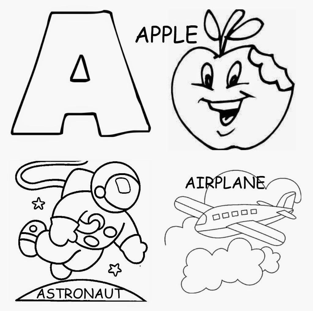 Letter A Worksheet for Kindergarten