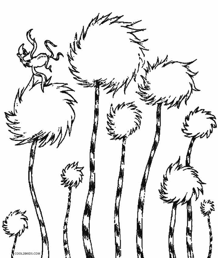 image regarding Lorax Printable known as Lorax Coloring Web pages coloring.rocks!