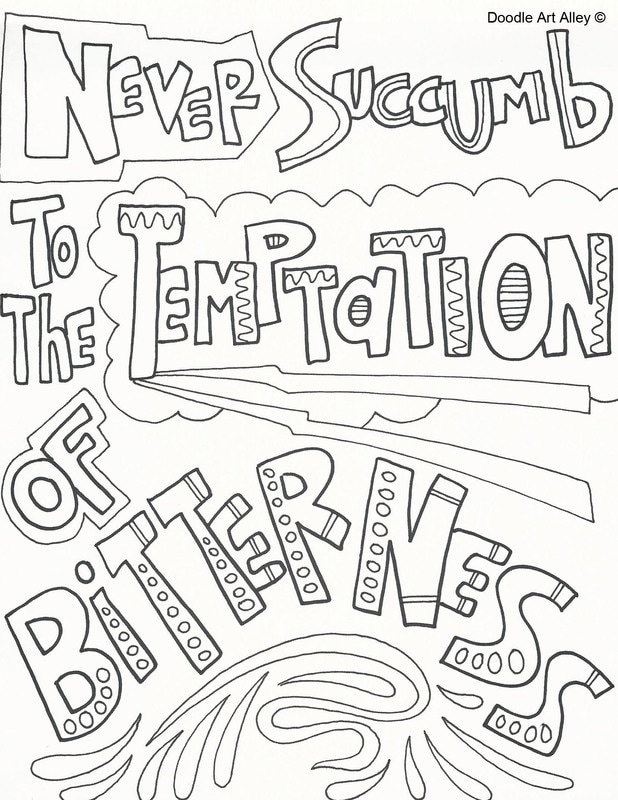MLK Quote Coloring Page