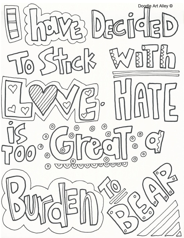 Martin Luther King Jr Coloring Pages and Worksheets - Best ... | 800x618