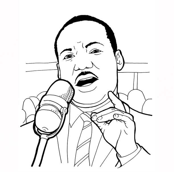 - Martin Luther King Coloring Pages – Coloring.rocks!