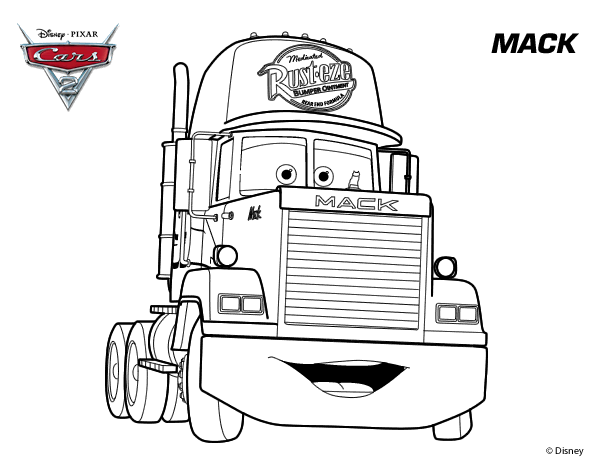 Mack-Trucks Coloring Pages