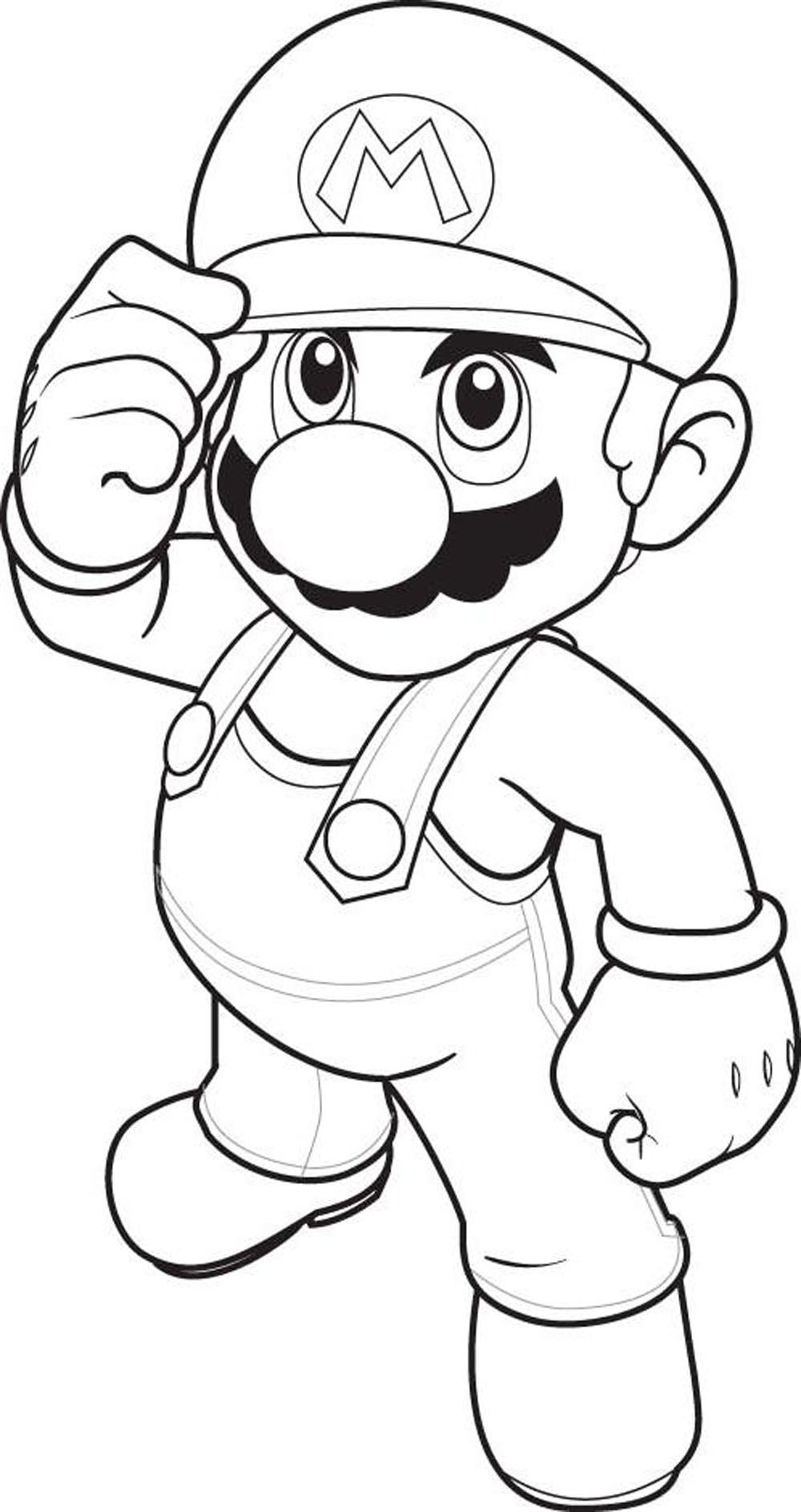 Mario Coloring Pages - coloring.rocks!