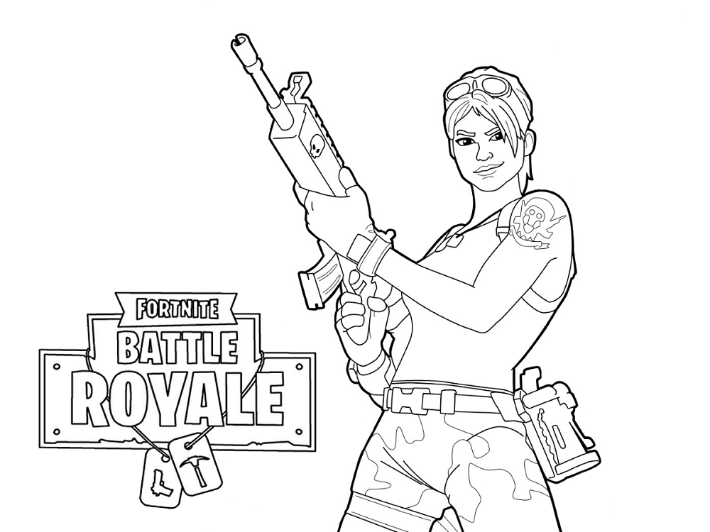 Master Grenadier Ramirez Fortnite Coloring Pages
