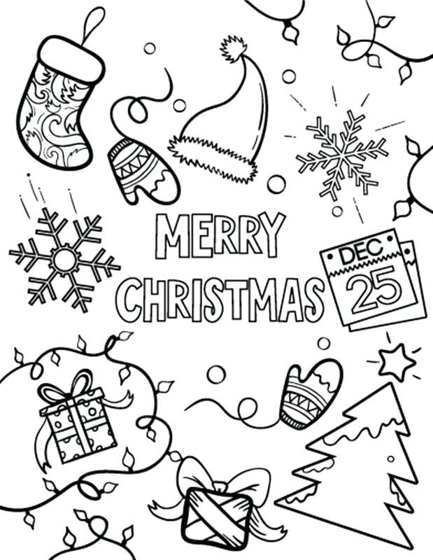- Merry Christmas Coloring Pages – Coloring.rocks!