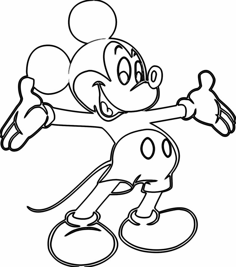- Mickey Mouse Coloring Pages – Coloring.rocks!