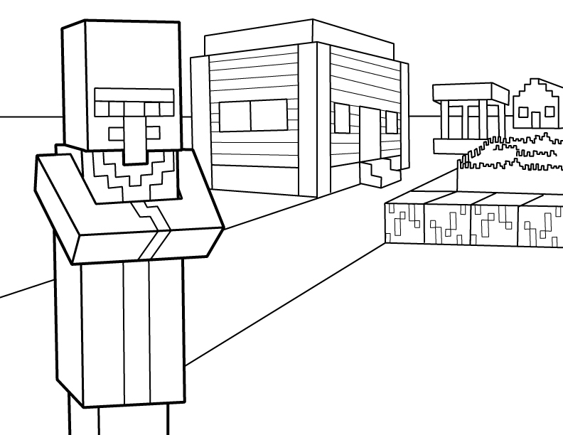 - Minecraft Coloring Pages – Coloring.rocks!