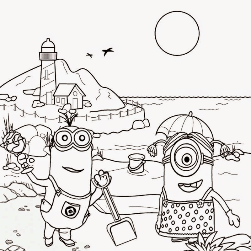 Minions Coloring Pages – Coloring.rocks!