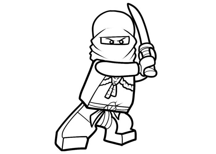 Ninjago Coloring Page