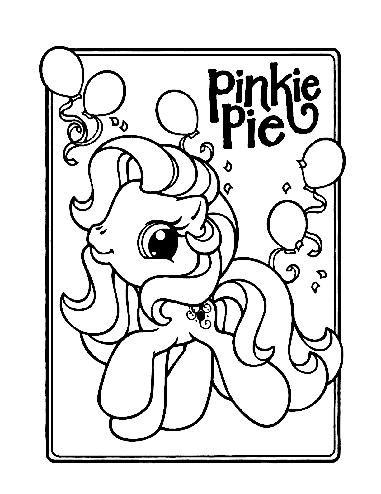 My Little Pony coloring pages | Print and Color.com | 1584x1224