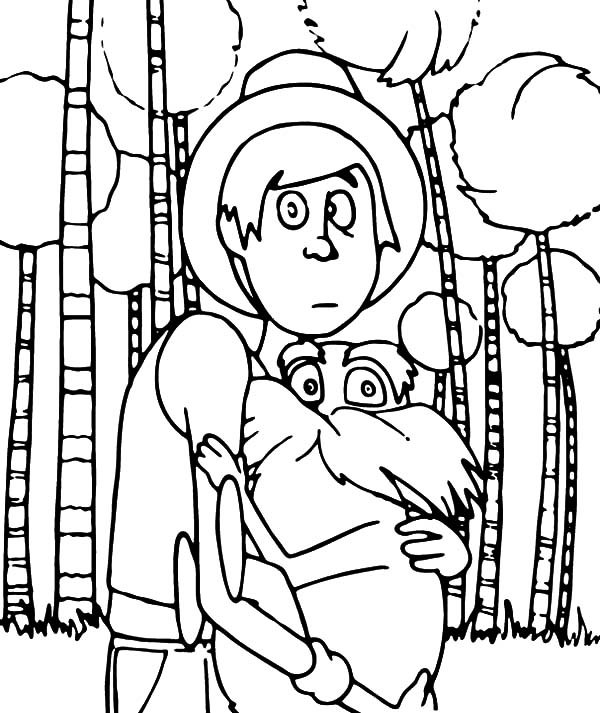Lorax Coloring Pages – coloring.rocks!