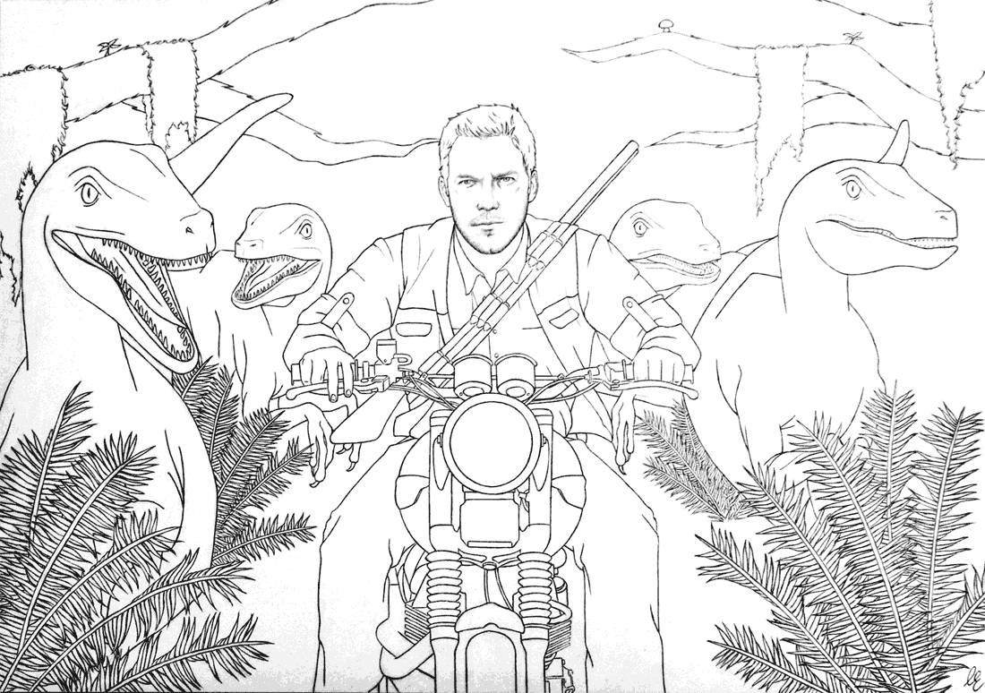- Jurassic World Coloring Pages – Coloring.rocks!