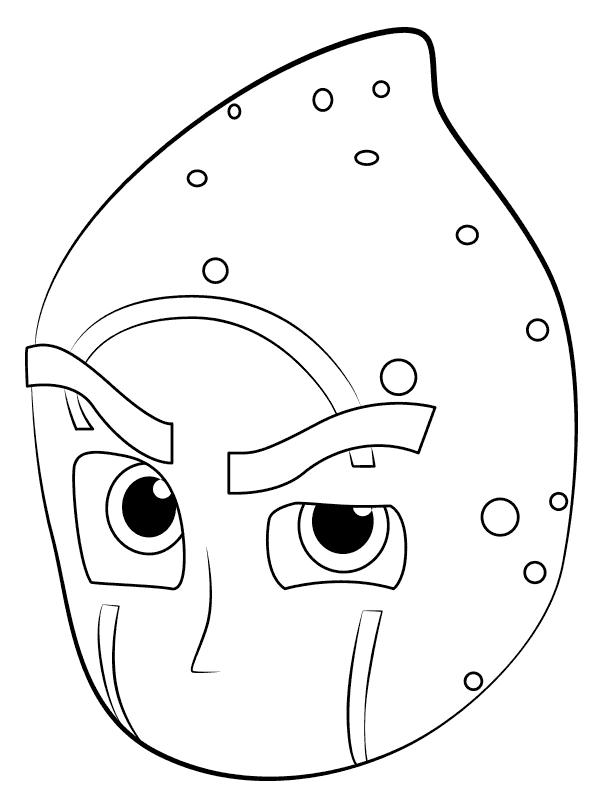 Pj Masks Coloring Pages Coloring Rocks