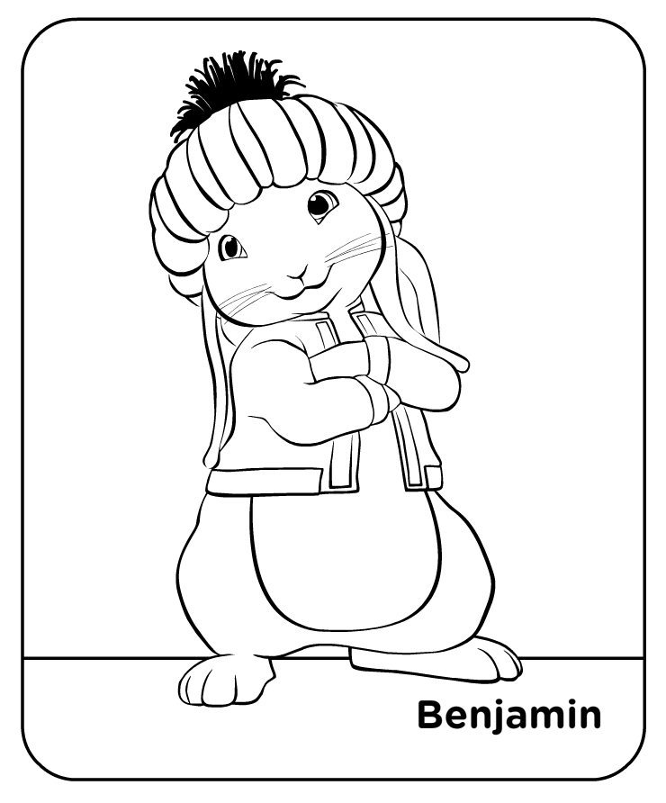 Peter Rabbit Coloring Page Printable