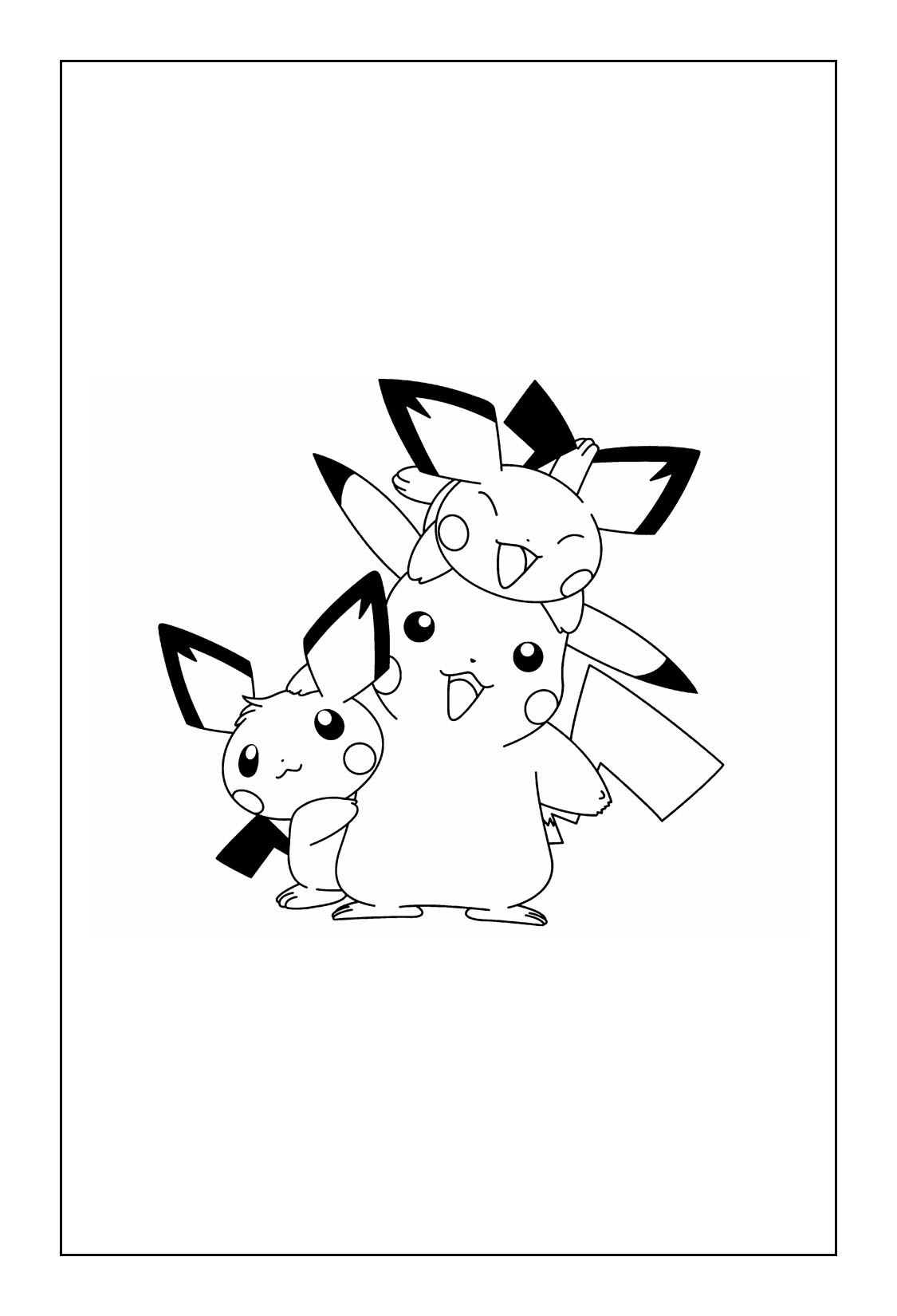 Pikachu Coloring Pages coloringrocks