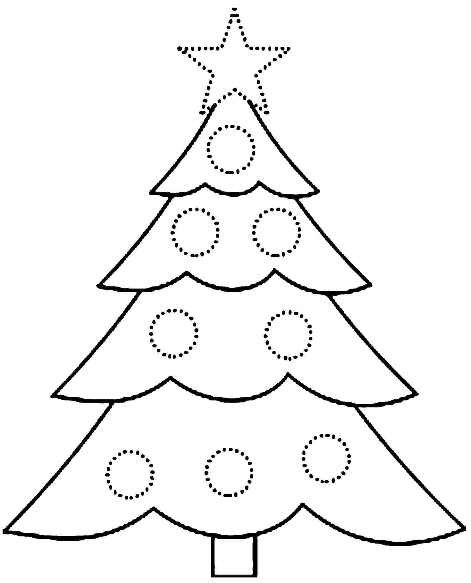 Christmas Coloring Pages for Preschoolers – coloring.rocks!